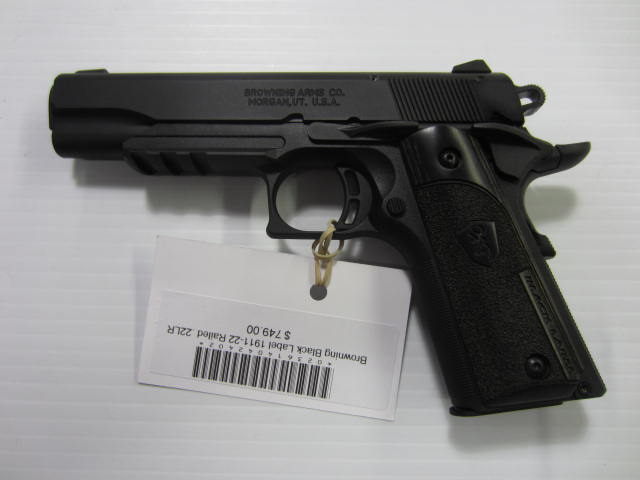 Browning 1911-22 Black Label .22 RF